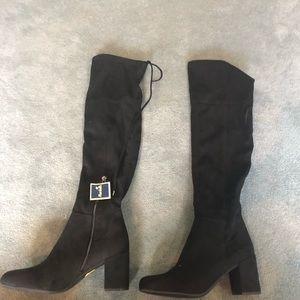Franco Sarto Shoes - Franco Sarto Knee High Black Boots Size 9 NWT